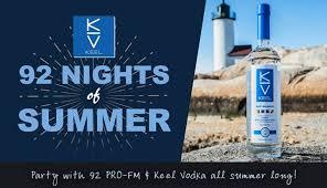 KEEL Vodka 92 Nights Of Summer W Pro FM