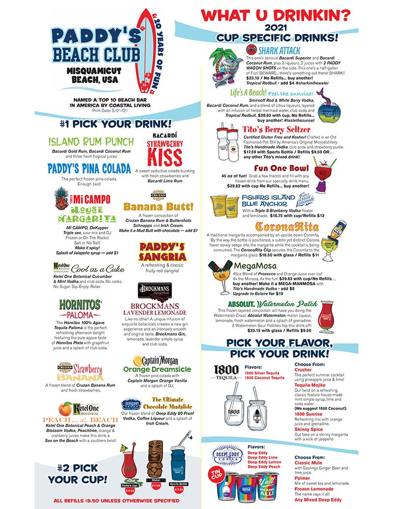 drink menu page 2